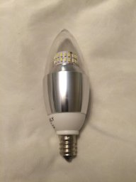 LOHASLY 5W Dimmable E12 LED Bulb